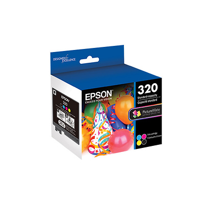 320 Standard-Capacity Color Ink Cartridge Image 0