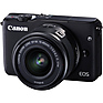 EOS M10 Mirrorless Digital Camera with 15-45mm Lens (Black)