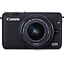 EOS M10 Mirrorless Digital Camera with 15-45mm Lens (Black) Thumbnail 1