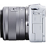 EOS M10 Mirrorless Digital Camera with 15-45mm Lens (White) Thumbnail 3