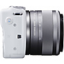 EOS M10 Mirrorless Digital Camera with 15-45mm Lens (White) Thumbnail 4