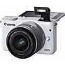 EOS M10 Mirrorless Digital Camera with 15-45mm Lens (White) Thumbnail 6