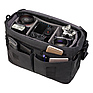 Cooper Luxury Canvas 15 Camera Bag with Leather Accents (Gray) Thumbnail 2