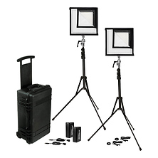 Flex Daylight LED Mat 2-Light Cine Travel Kit (1 x 1 ft.) Image 0