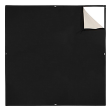 Scrim Jim Cine Unbleached Muslin/Black Fabric (6 x 6 ft.) Image 0