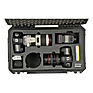 iSeries 2011-7 Two DSLR with Lenses Case (Black) Thumbnail 4