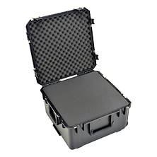Watertight Case 12 In. Deep with Wheels and Pull Handle (Cubed Foam) Image 0