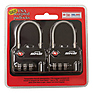 TSA Combination Cable Padlocks (2-Pack) Thumbnail 2