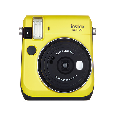 Instax mini 70 Instant Film Camera (Canary Yellow) Image 0