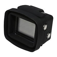 My Shade S3 Collapsible Silicone Monitor Shade for GoPro HERO4 Black / 3+ / 3 with Standard Housing and LCD BacPac Backdoor (Black) Image 0