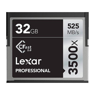 32GB Professional 3500x CFast 2.0 Memory Card Image 0