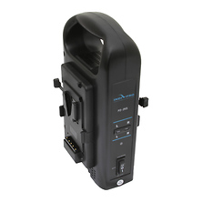Dual Charger for V-Mount Batteries (16.8 VDC, 3A) Image 0