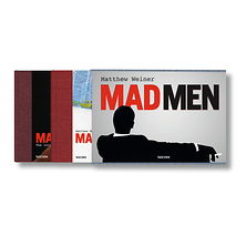 Mad Men By Matthew Weiner - Hardcover Book Image 0