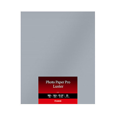 17 x 22 In. Photo Paper Pro Luster (25 Sheets) Image 0