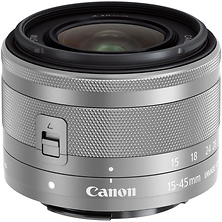 EF-M 15-45mm f/3.5-6.3 IS STM Lens (Silver) Image 0