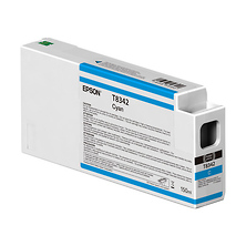 T834200 UltraChrome HD Cyan Ink Cartridge (150ml) Image 0