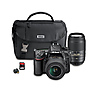 D7100 Digital SLR Camera with 18-55mm and 55-300mm Lens Wi-Fi Kit (Black) Thumbnail 0