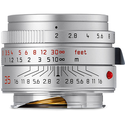 35mm f/2.0 Summicron-M ASPH Lens (Silver) Image 0