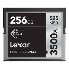 256GB Professional 3500x CFast 2.0 Memory Card Image 0