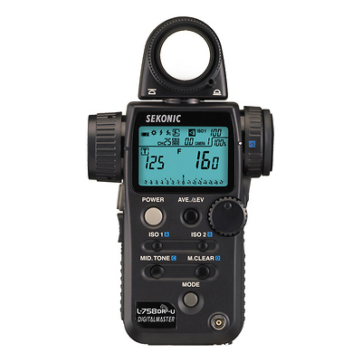 L-758DR-U DigitalMaster Light Meter for PocketWizard System Image 0