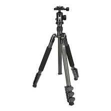 ET-1204 Carbon Fiber Tripod with E-10 Ball Head Image 0