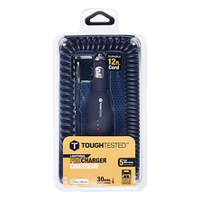 Apple 8 Pin-Lightning Pro Car Charger with 12 ft. Cord Image 0