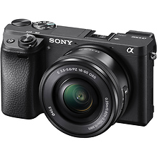 Alpha a6300 Mirrorless Digital Camera with 16-50mm Lens (Black) Image 0