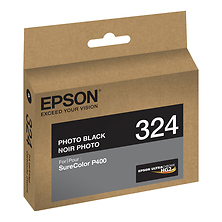 T324 Photo Black UltraChrome HG2 Ink Cartridge Image 0