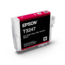 T324 Red UltraChrome HG2 Ink Cartridge Image 0