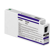 T824D00 UltraChrome HDX Violet Ink Cartridge (350ml) Image 0