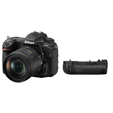 D500 Digital SLR Camera with 16-80mm Lens and MB-D17 Multi Power Battery Pack Image 0