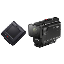 HDR-AS50 Full HD POV Action Camcorder with RM-LVR2 Live-View Remote Image 0