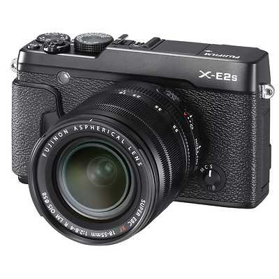 X-E2S Mirrorless Digital Camera with 18-55mm Lens (Black) Image 0