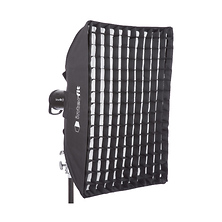 Heat-Resistant Rectangular Softbox with Grid (24 x 36 In.) Image 0