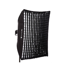 Heat-Resistant Rectangular Softbox with Grid (36 x 48 In.) Image 0