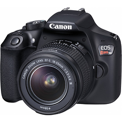 Canon EOS Rebel T6 Digital SLR Camera with 18-55mm Lens Image