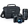 EOS Rebel T6 Digital SLR Camera with 18-55mm and 75-300mm Lenses Kit