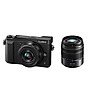 Lumix DMC-GX85 Mirrorless Micro Four Thirds Digital Camera with 12-32mm Lens & 45-150mm Lens Kit (Black)