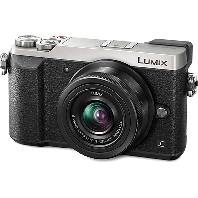 Lumix DMC-GX85 Mirrorless Micro Four Thirds Digital Camera with 12-32mm Lens (Silver) Image 0