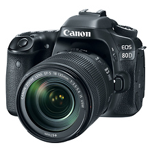 EOS 80D Digital SLR Camera with EF-S 18-135mm f/3.5-5.6 IS USM Lens Image 0
