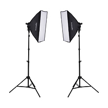 F5 Two-Head Fluorescent Lighting Kit Image 0