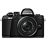 OM-D E-M10 Mark II Mirrorless Micro Four Thirds Digital Camera with 14-42mm II R Lens (Black) Thumbnail 0