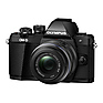 OM-D E-M10 Mark II Mirrorless Micro Four Thirds Digital Camera with 14-42mm II R Lens (Black) Thumbnail 1