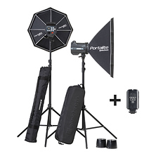 BRX 500/500 Softbox To Go Kit Image 0
