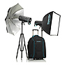 Siros L 800Ws Battery-Powered 2-Light Outdoor Kit 2