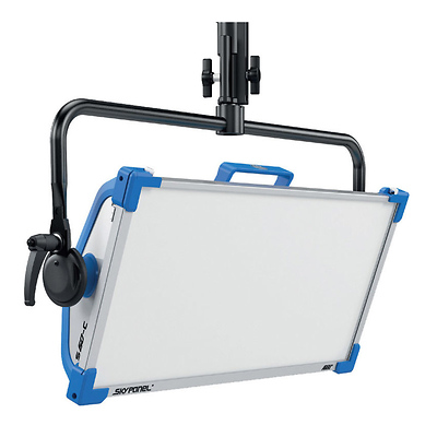 SkyPanel S60-C LED Softlight with Manual Yoke (Blue/Silver, Edison) Image 0