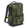 Street Camera and Laptop Backpack for DSLR/CSC (Green and Gray)