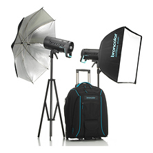 Siros L 400Ws Battery-Powered 2-Light Outdoor Kit 2 Image 0