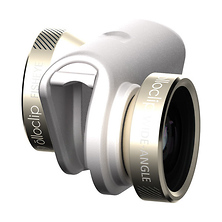 4-in-1 Photo Lens for iPhone 6s Plus (Gold with White Clip) Image 0