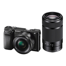 Alpha a6000 Mirrorless Digital Camera with 16-50mm and 55-210mm Lenses (Black) Image 0